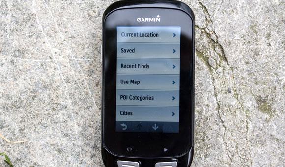 Garmin Edge 1000 - Вы можете просто ввести необходимый адрес или точку интереса
