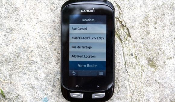 Garmin Edge 1000 - «Route Planner» (планировщик маршрута)
