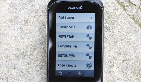 Garmin Edge 1000 - возможность задавать имя для каждого конкретного датчика