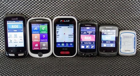 Edge 1000, Mio Cyclo 505, Polar V650, Edge 810, Edge 510, Edge 500