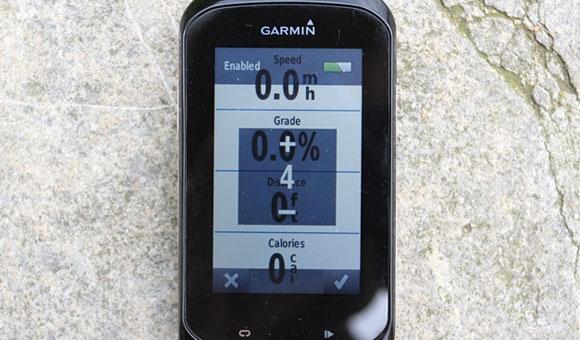 Garmin Edge 1000 - экраны/страницы данных
