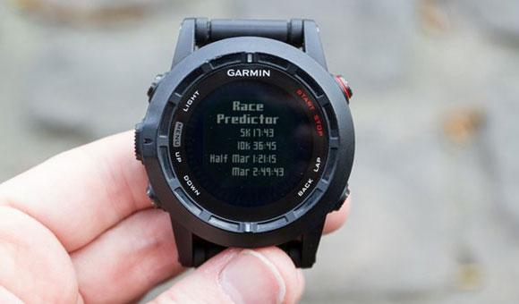 Garmin fenix 2 - Race Predictor (Прогноз соревнований)