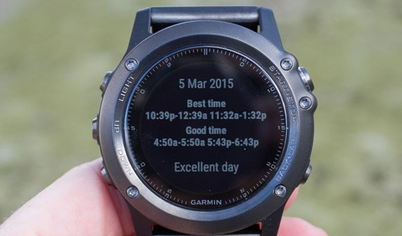 Garmin fenix 3 - Connect IQ - Виджеты