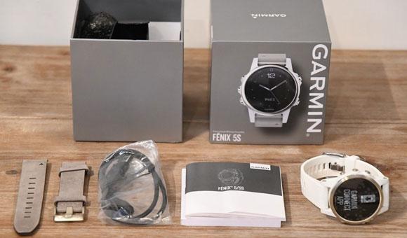 Fenix 5S Sapphire - распаковка