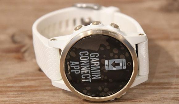 Часы Fenix 5S Sapphire с белым ремешком