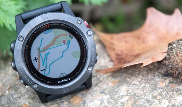 Garmin fenix 5 - Навигация