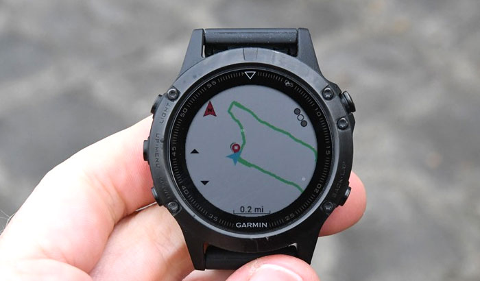 Garmin fenix 5 - Создание маршрута