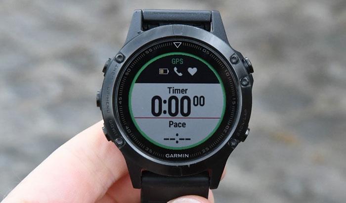 Fenix 5 - Бег - GPS