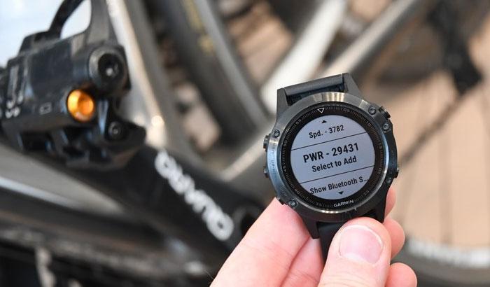 Fenix 5 - Велосипед