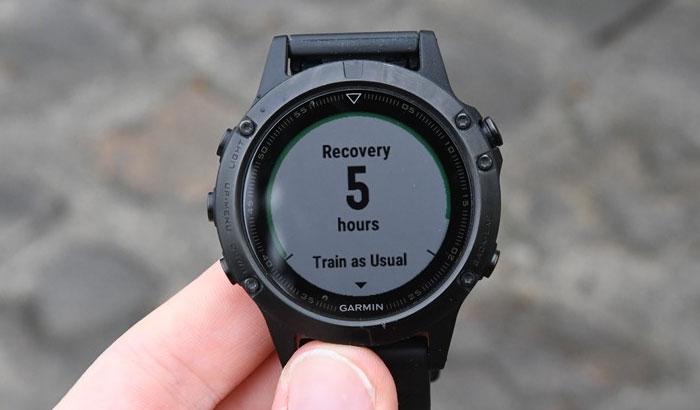 Garmin fenix 5 - Время восстановления.