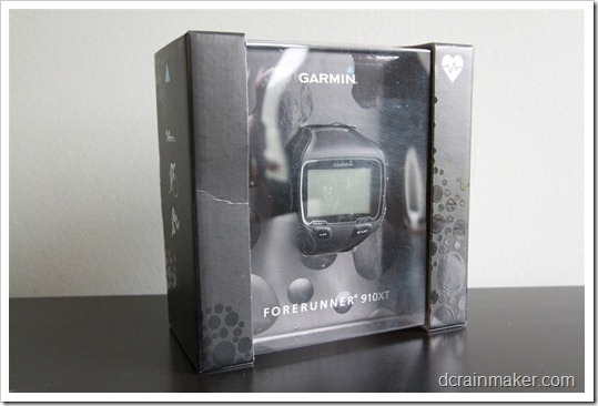 Garmin FR910XT - коробка