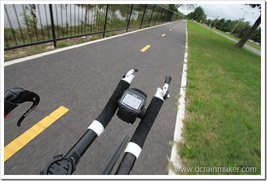 Garmin FR910XT on Garmin Forerunner Rubber Bike Mount