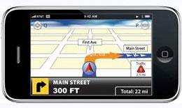 Выбор навигационных программ под iPhone невелик