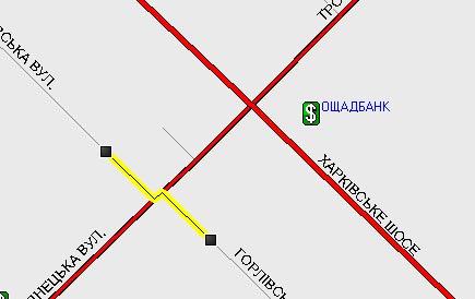 «Другая 1» Проезжая часть с двухсторонним движением на карте изображается с учетом разделительной полосы лишь в некоторых случаях