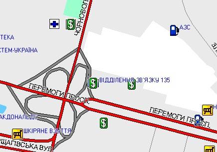 «Другая 1» Образец изображения киевского перекрестка.