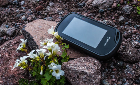 Garmin Oregon 600 - Экспедиция на Казбек - август 2016