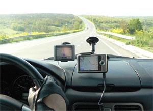 Тест-драйв GPS: Причерноморье и Западный Крым