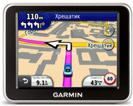 автонавигатор Garmin nuvi 2250