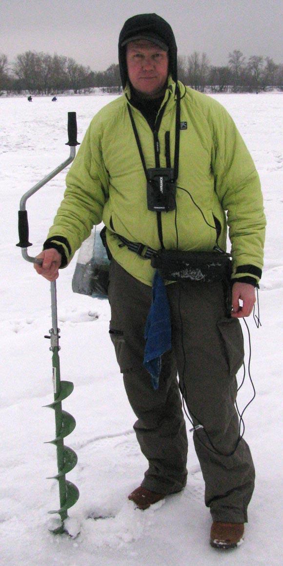 Юрий Орлов - зимняя экипировка рыбака