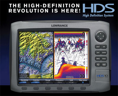 Lowrance HDS 10
