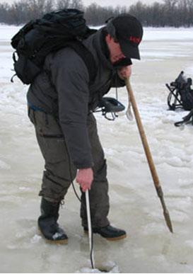 Зимняя рыбалка с эхолотом - Юрий Орлов