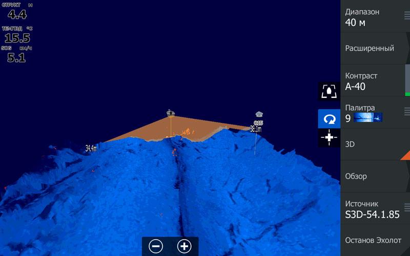 StructureScan 3D - скриншот с HDS-12 Gen3
