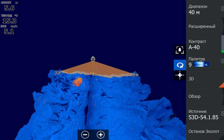 StructureScan 3D - скриншот с HDS-12 Gen3 - SelectScan