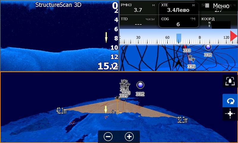 StructureScan 3D - скриншот с HDS-9 Gen3