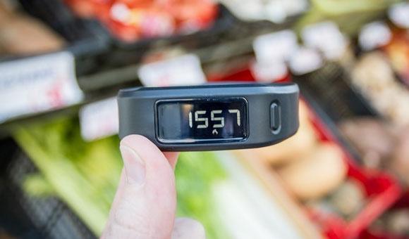 Экран vivofit - калории