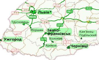 Обновление карты Украины НАВЛЮКС для GPS-навигаторов Garmin
