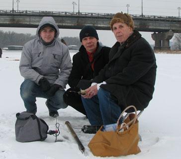 Презентация зимнего набора рыбака