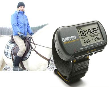 Навигаторы Garmin Forerunner в конном спорте