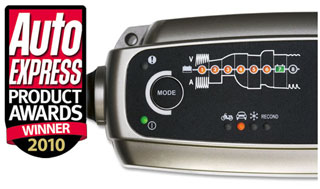 Зарядное устройство CTEK удостоилось высшей награды Auto Express Awards