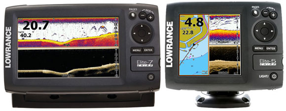 Lowrance Launches Elite-7 And Elite-5 CHIRP Series Displays