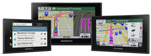 New Garmin nuvi Advanced Series Features Foursquare Data, Large Multi-Touch Displays