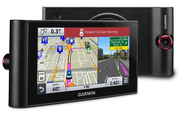 Новый автонавигатор Garmin nuviCam со встроенным видеорегистратором