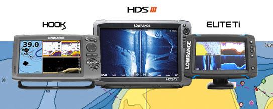 Lowrance HDS Gen3, HOOK, Elite Ti