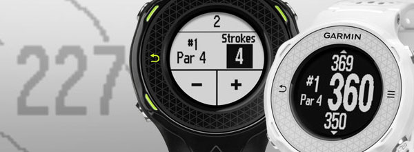 Garmin Approach S4 - часы для гольфа с GPS