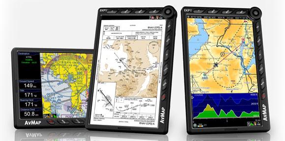 Авиационный GPS-навигатор AvMap EKP V