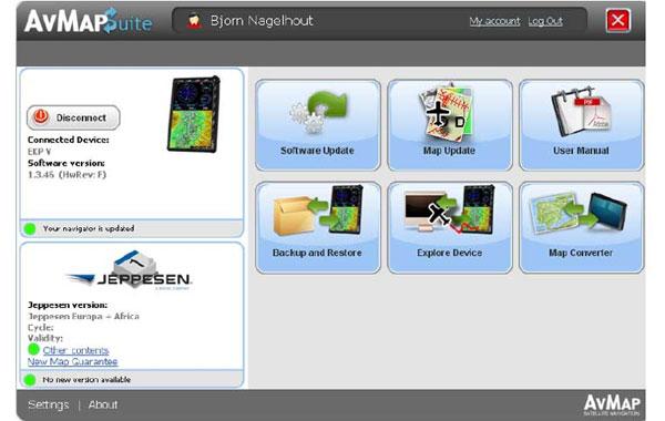 Программное обеспечение AvMap Suite
