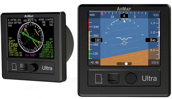 AvMap Ultra EFIS - 9 инструментов в одном