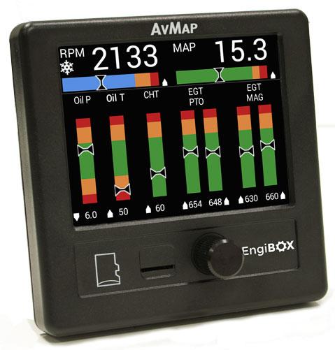 Прибор AvMap EngiBOX для проверки двигателей ROTAX
