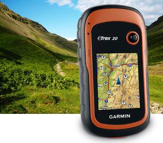 туристический Garmin eTrex 20