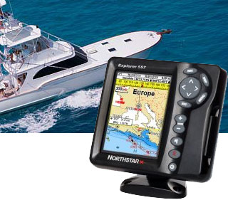 Northstar Explorer 557 - морской GPS навигатор