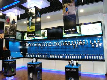 Первый в Украине фирменный магазин Garmin