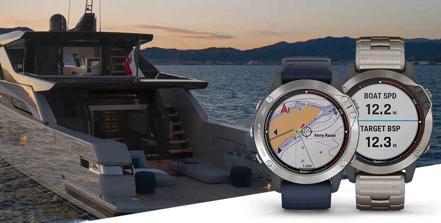 Garmin introduces quatix 6 marine GPS smartwatch series