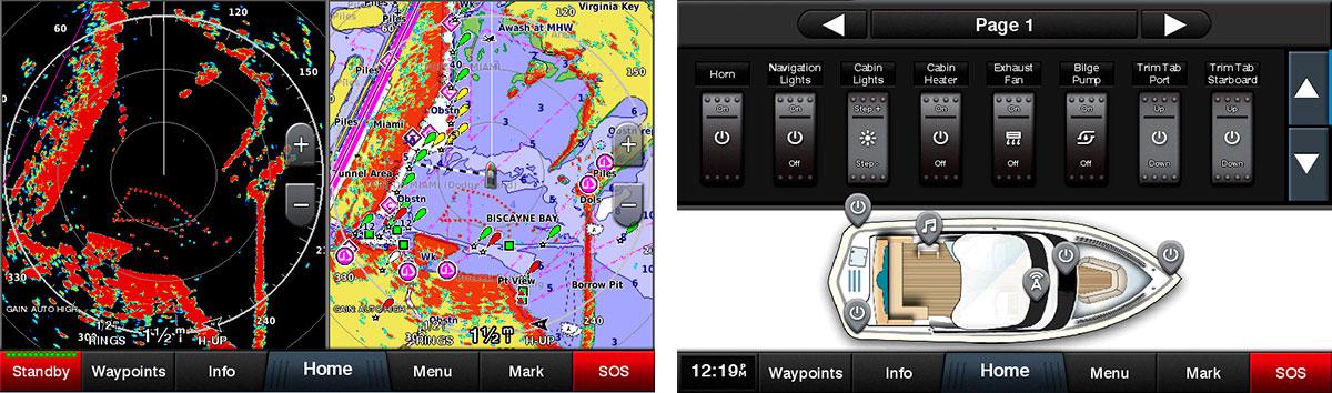 Підтримка морських мереж Garmin та NMEA 2000