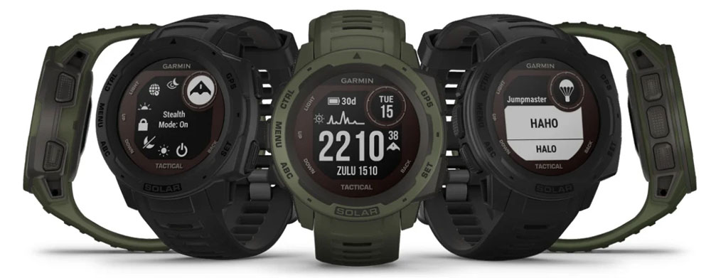 Годинник Garmin Instinct Solar Tactical
