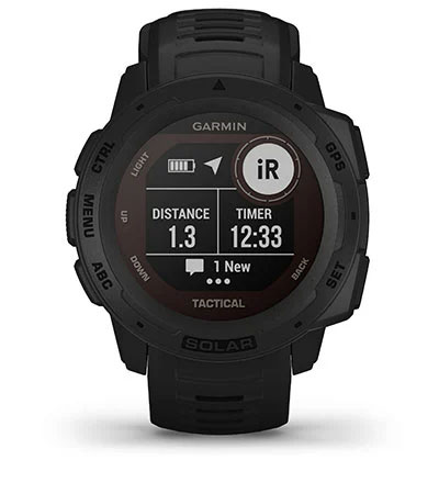 Сумісність Garmin Instinct Solar Tactical з inReach